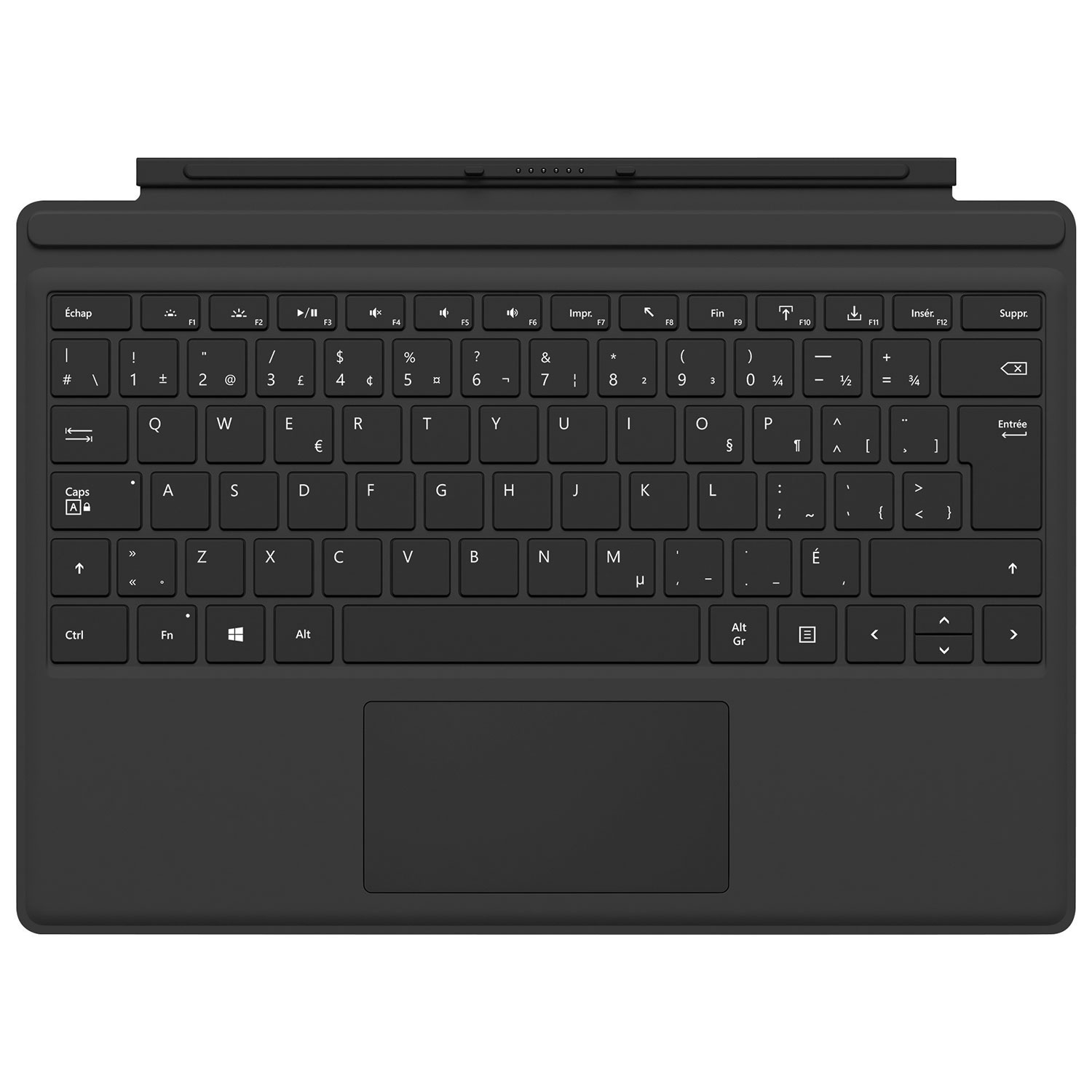 Surface Pro Type Cover – Black