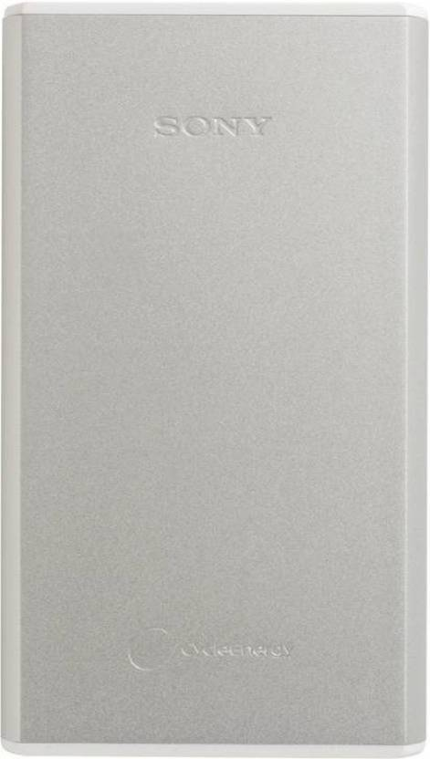 Power Bank 15000 mAh  Sony CP-S15 (Silver, Lithium Polymer)