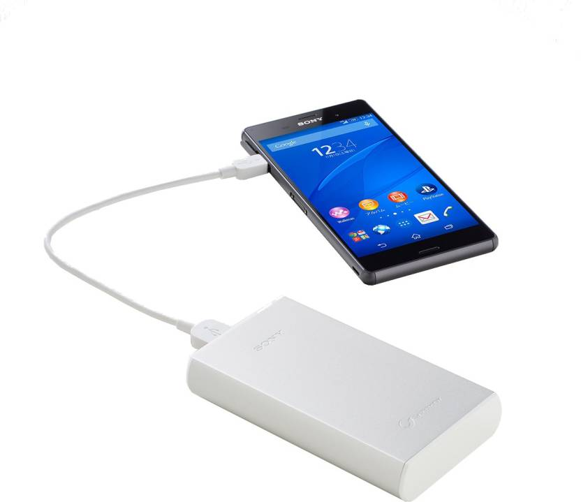 Sony CP-V9/WC 8700 mAh Power Bank – (White)
