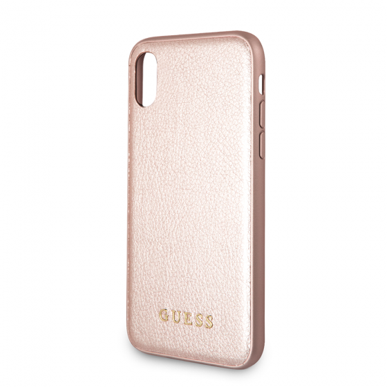 iPhone X Guess Gold Hard