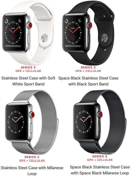 iWatch Series3 42mm Stainless Steel(Sport Band)
