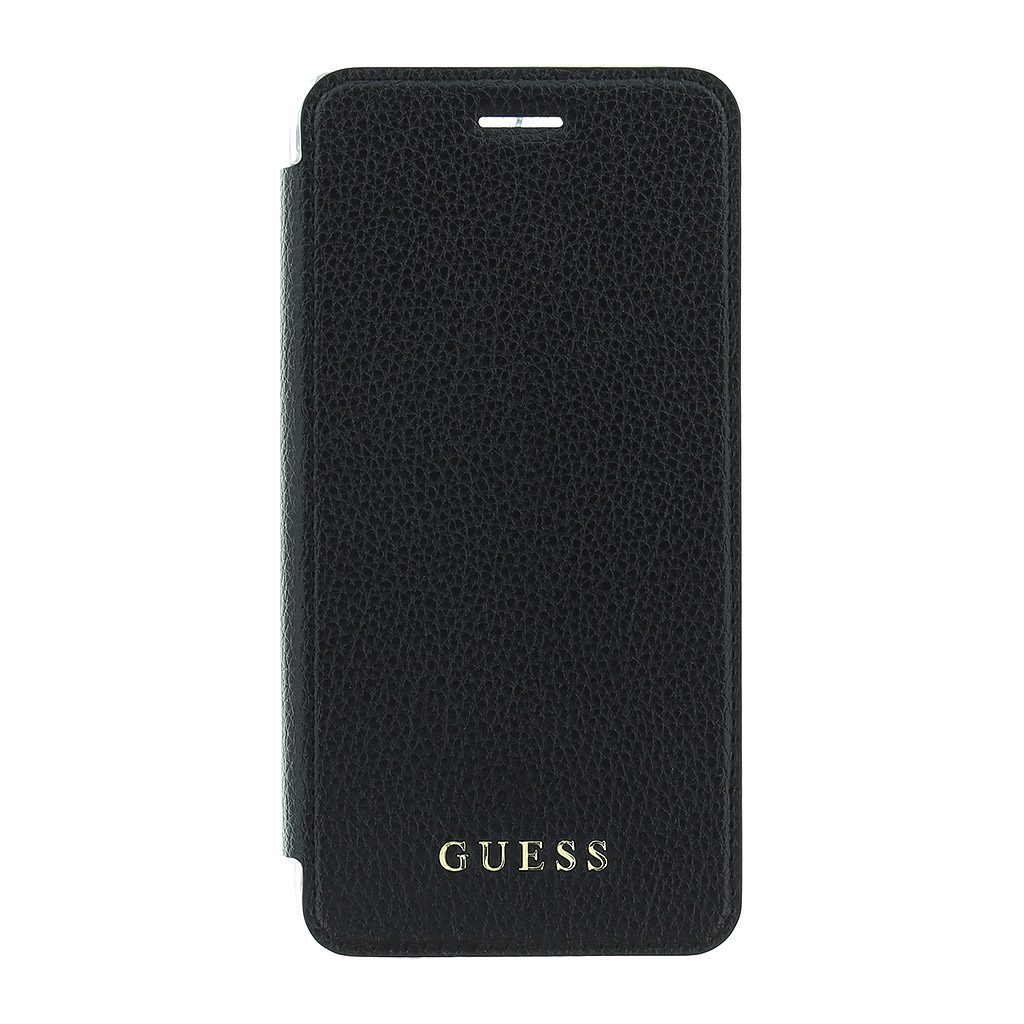 Guess IriDescent Book Case Black for iPhone 7/8 Plus