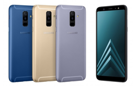 Galaxy A6 និង A6+ បង្ហាញខ្លួនជាផ្លូវការ ជាមួយនឹងអេក្រង់ Infinity Display
