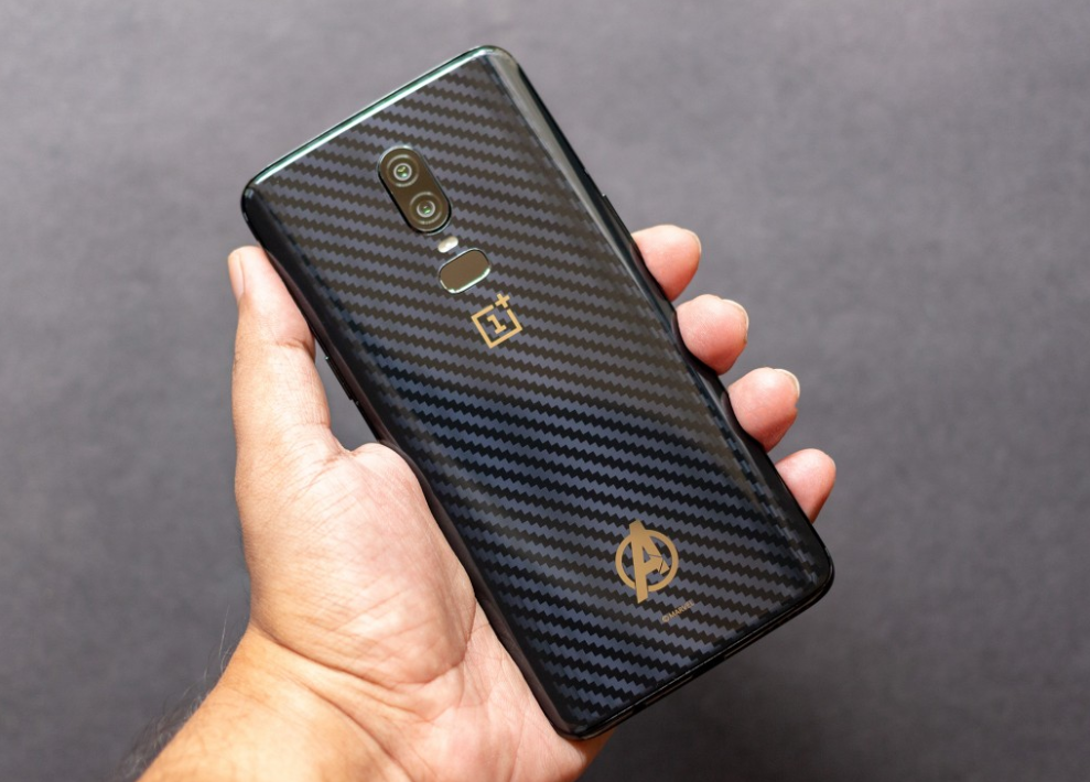 OnePlus 6 Avengers Infinity War Edition