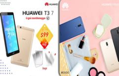 Huawei T3 ៧ អ៊ីញ, T3 Plus ៨ អ៊ីញ, និង Huawei nova 2i ត្រឡប់មកជាមួយតម្លៃពិសេស និងកញ្ចប់កាដូបន្ថែម!