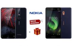 Nokia ផ្តល់តម្លៃពិសេស និងកាដូជាច្រើនដល់អតិថិជនរាល់ការជាវ Nokia 2.1 និង 6.1 Plus!
