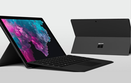 កុំព្យូទ័រកូនកាត់ Surface Pro 6 ស៊េរី 2018 ចេញថ្មីជាមួយខ្លួនខ្មៅក្រឹប និងល្បឿនលឿនជាងមុន