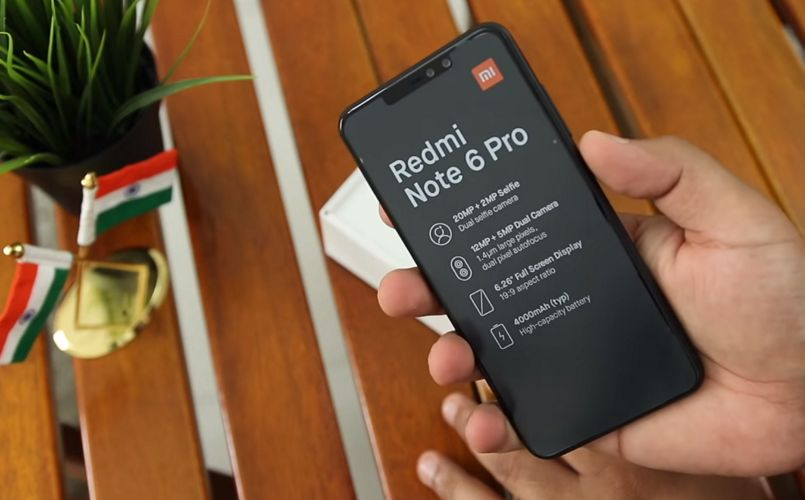 Redmi Note 6 Pro