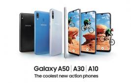 Galaxy A20 អេក្រង់ 6.4 អ៊ីញ Super AMOLED និងមានថាមពលថ្ម 4000mAh
