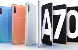 Galaxy A70 បង្ហាញវត្តមានជាផ្លូវការ មានអេក្រង់ធំ 6.7 អ៊ីញ ជាមួយកម្រិត Aspect Ratio 20:9 និងមានកាមេរ៉ាខាងក្រោយ 3 គ្រាប់