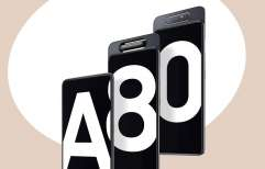 Samsung Galaxy A80 ចេញផ្លូវការ មានអេក្រង់លាតស្ទើរគ្មានគែម New Infinity និងមានកាមេរ៉ាប្លែកគេ!