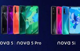 Huawei Nova 5i Pro អាចមានកាមេរ៉ាក្រោយ 4 គ្រាប់ ជាមួយកម្លាំងម៉ាស៊ីនប្រសើរជាង Nova 5i