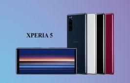 Sony ប្រកាសចេញ Xperia 5 ជាផ្លូវការហើយ