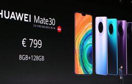 ឯកសារ TENAA បង្ហាញថា Mate 30 series នឹងមានជម្រើស RAM 6GB និង 12GB សម្រាប់ម៉ូឌែលដែលលក់នៅក្នុងប្រទេសចិន