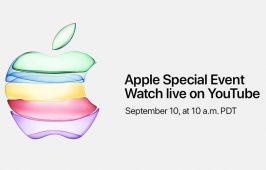 Apple នឹងធ្វើការផ្សាយផ្ទាល់ព្រឹតិ្តការណ៍ដាក់បង្ហាញ iPhone 11 នៅលើ YouTube ជាលើកដំបូង