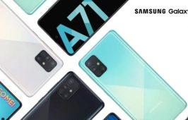 Galaxy A71 បានបង្ហាញខ្លួនជាផ្លូវការ ជាមួយកាមេរ៉ាចំនួន 4 គ្រាប់រាងចតុកោណ និងមានលេនទំលុះអេក្រង់នៅខាងមុខ