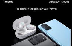 Poster ផ្លូវការ បង្ហាញថាអ្នកកុម្ម៉ង់ទិញ Galaxy 20+/S20 Ultra ទុកមុន នឹងទទួលបាន Galaxy Buds+ ដោយឥតគិតថ្លៃ