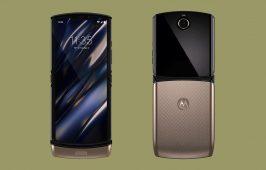 ពេញចិត្តទេ ចំពោះពណ៌មាសដែលមាននៅលើ ទូរសព្ទឆ្លាតអេក្រង់បត់ Motorola Razr នេះ?