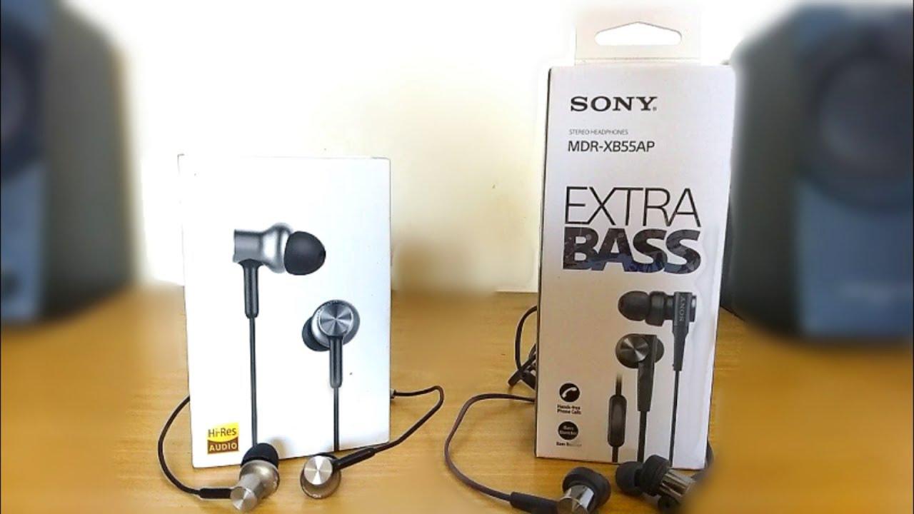 MDR-XB55AP EXTRA BASS™ In-ear Headphones