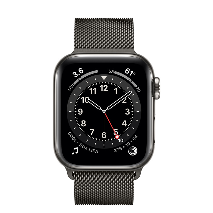 Watch6 Graphite Stainless 40mm